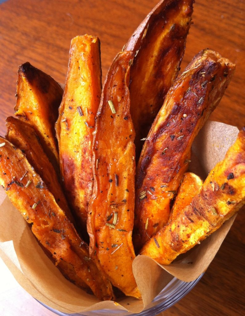 Oven Sweet Potato Fries