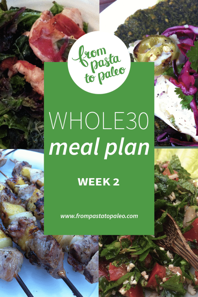Whole30 Meal Plan #2