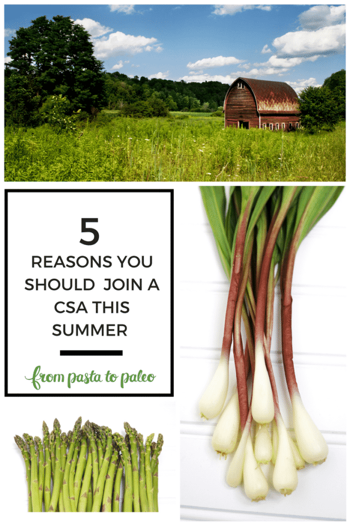 5 Reasons You Should Join a CSA this Summer