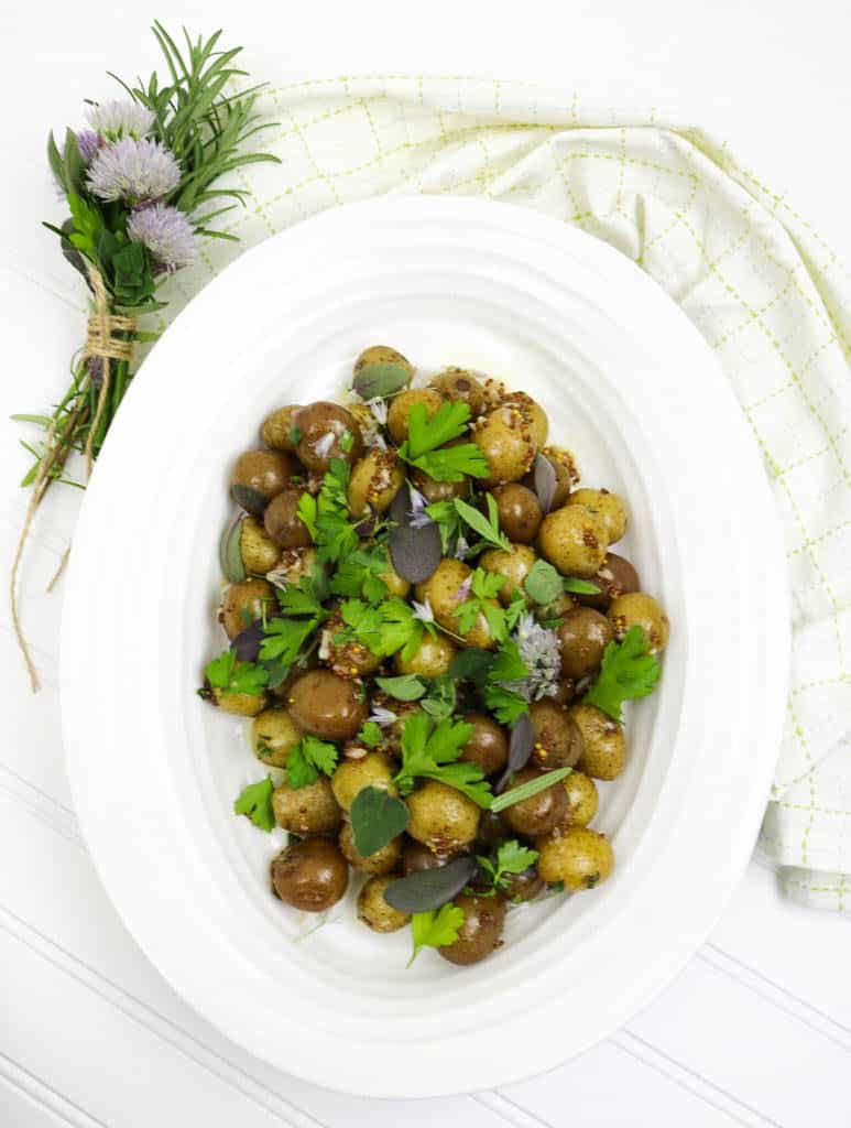 Herbed Potato Salad - A Healthy, Whole30 and Paleo Recipe