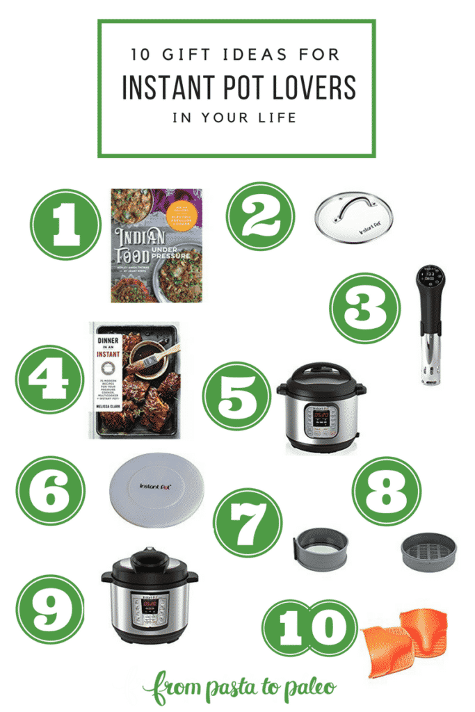 10 Gift Ideas for Instant Pot Lovers - Gift List