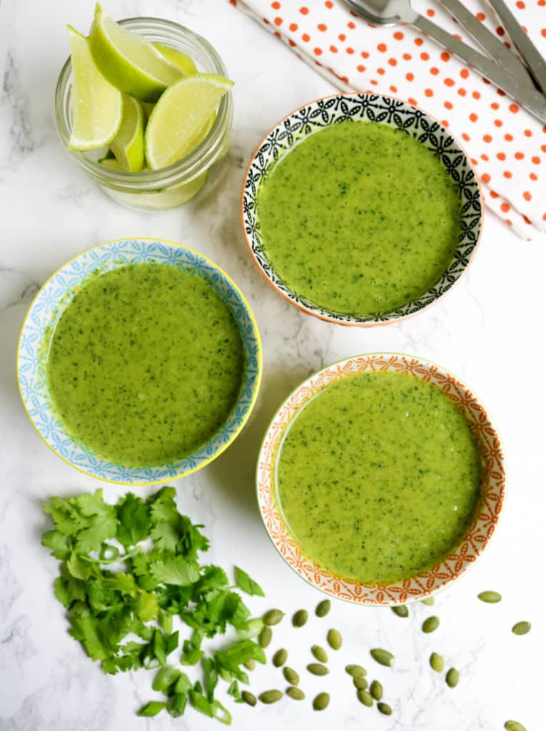 Green Soup - Broccoli and Kale Soup