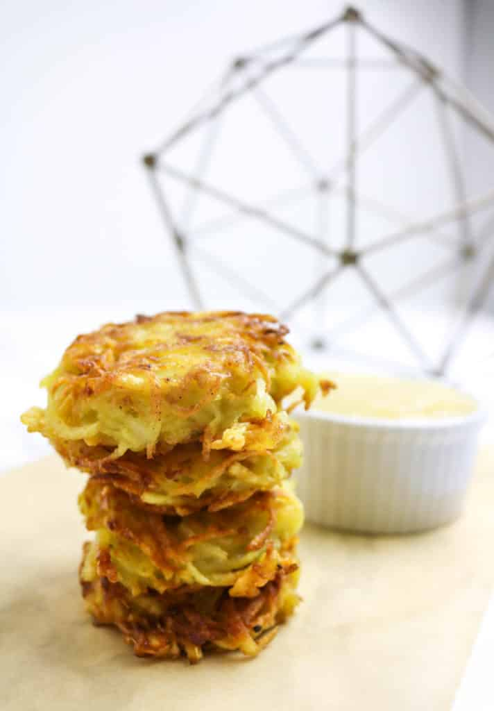 Grain-Free Latkes - Whole30 and Paleo Approved