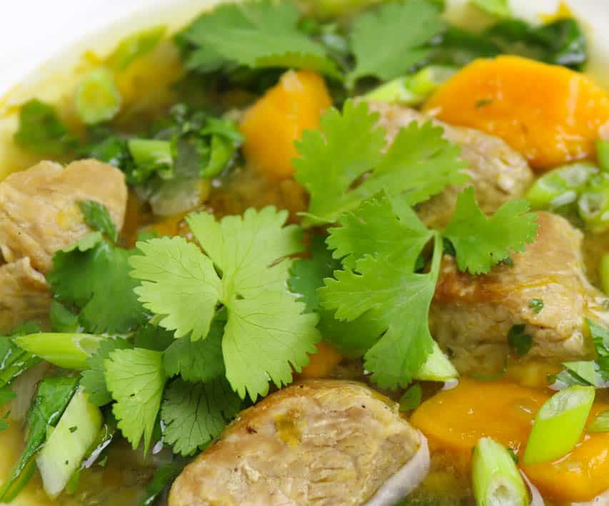 Instant Pot Tomatillo Pork Soup Ingredients