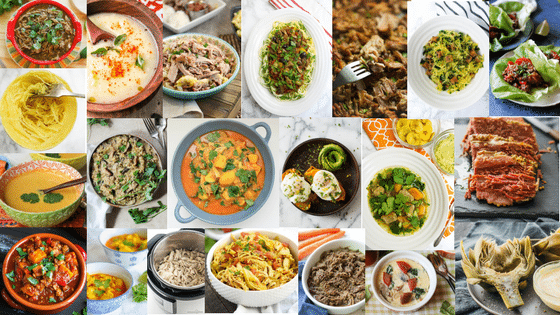 Whole30 Instant Pot Recipe Round-Up