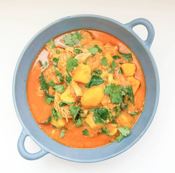 Mango Chicken Curry Instant Pot Slow Cooker Recipe