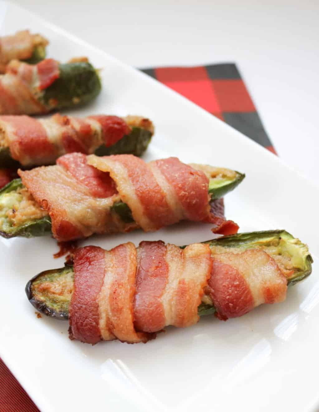 Cream Cheese Jalapeno Poppers with Bacon Recipe